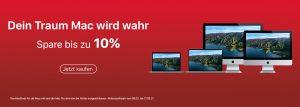 10% auf deinen Mac
