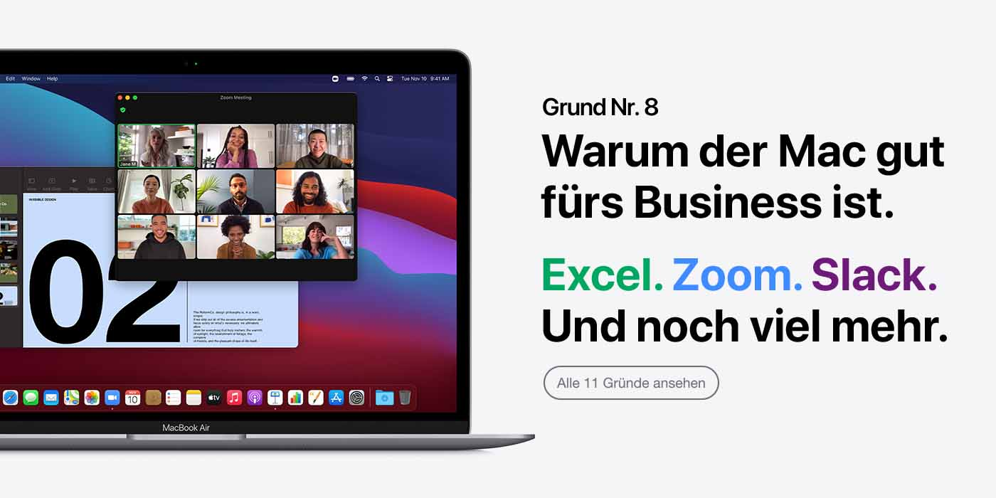 Der Mac für dein Business